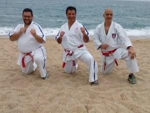 de gauche à droite  Pippo Meli-Philippe Giaccone-Tony Garieri